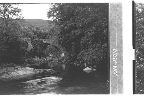 Bridge over river Tilt, Atholl.