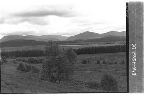 Cairngorms view from Baddoch.
