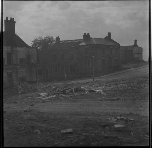 [Buildings and cleared plots, Rye Hill, Rye Hill]