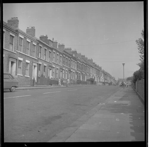 [Streetview and terraced houes, Rye Hill]