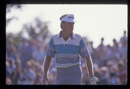 Wayne Grady on the green during the 1989 Open Championship