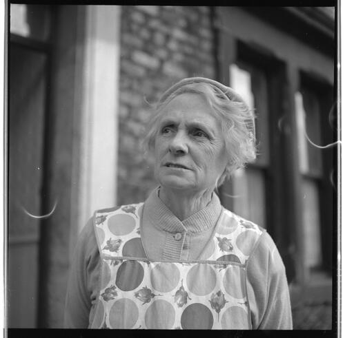 [Portrait of an unidentified older woman, Rye Hill]