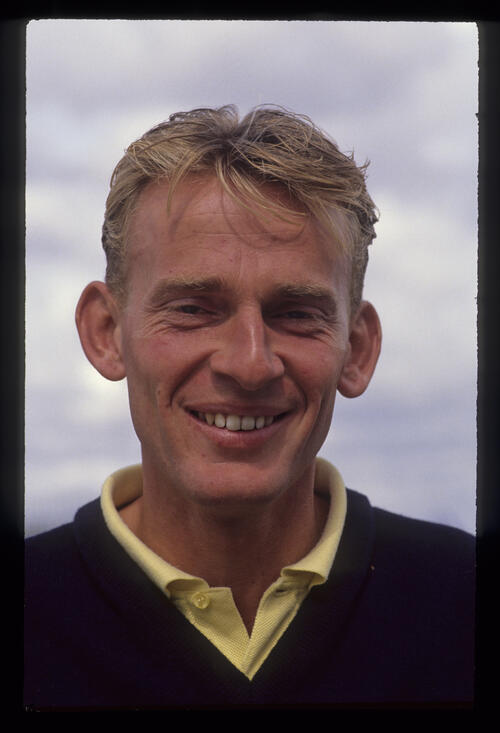 John Hawksworth posing for the camera during the 1990 NM English Open
