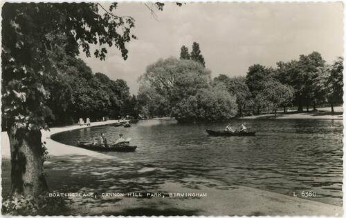 Boating Lake, Cannon Hill Park, Birmingham.