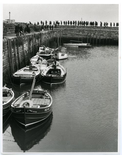 First Pier Walk of the Session, 1972-3