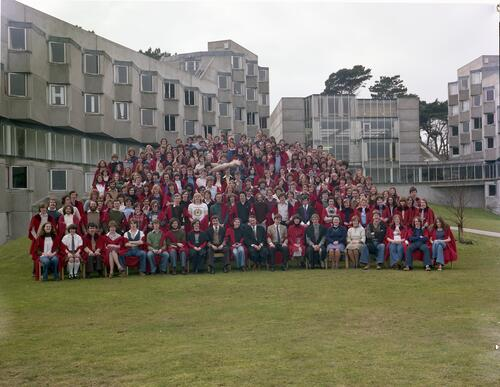 Andrew Melville Hall students, University of St Andrews.