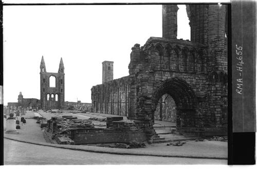 St Andrews Cathedral.