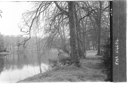 The Lake, Fyvie Castle.