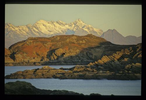 The Cuillins from Sleat.