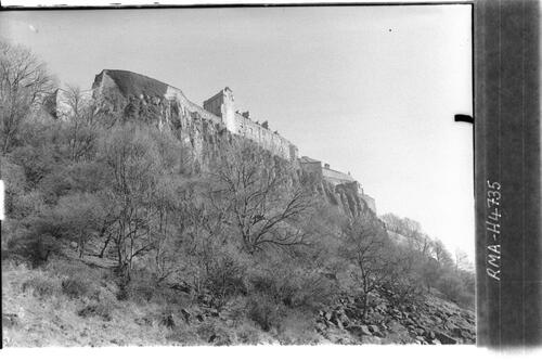 Stirling Castle and Rock.