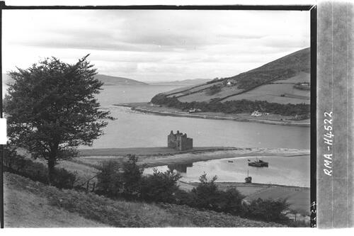 Loch Ranza Castle and Bay.
