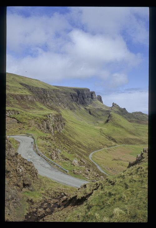 To the Quirang, north Skye.