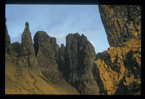 In the Quirang, north Skye.