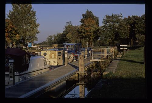 The basin at Lock 16 [Camelon, Falkirk], Forth and Clyde Canal.