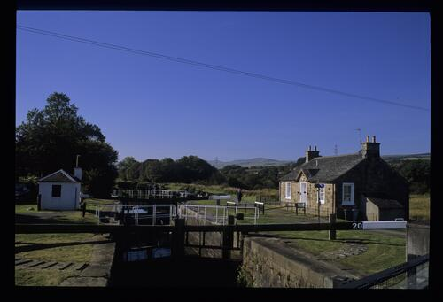 Wyndford Lock, Forth and Clyde Canal.