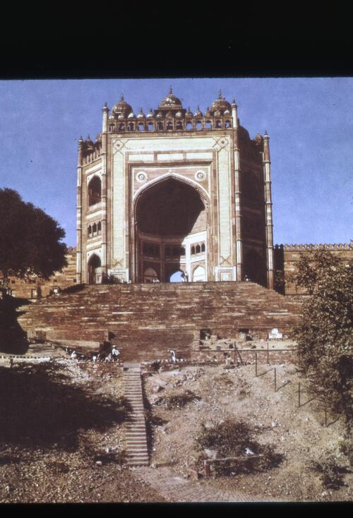 Buland Darwaza (Gate of Victory) within the Jama Maskid, Fatehpur Sikri complex