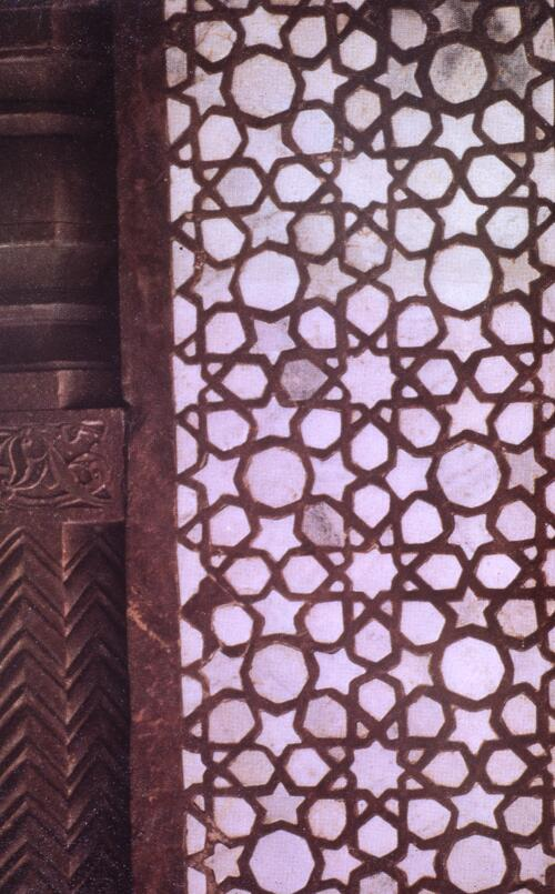 Marble screen in Fatehpur Sikri