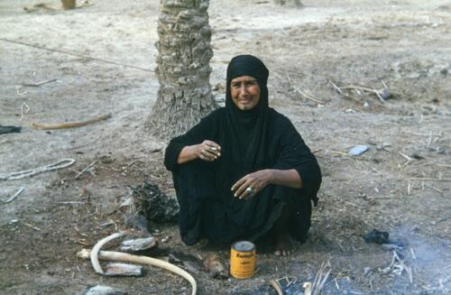 Unidentified Bedouin woman