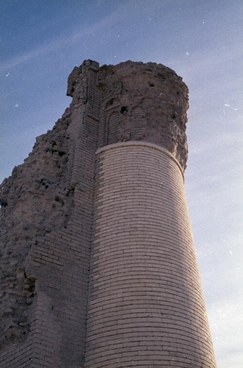 Remnants of the corner tower from an unidentified Islamic building