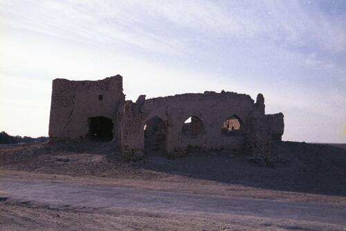 Remnants of an unidentified Islamic building