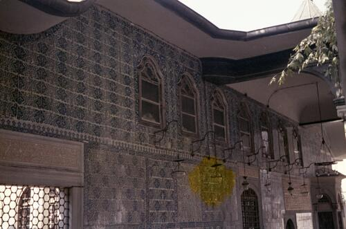 Unidentified Islamic building with tiles