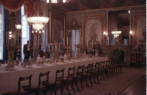 The Banqueting Room in the Royal Pavillion