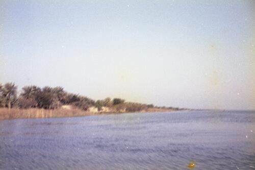 General view of unidentified coastal landscape