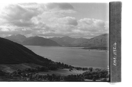 Ardgour peaks from Ballachulish.