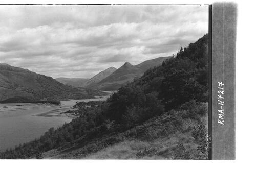 Creag Chorm and Loch Leven.