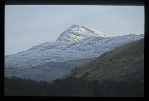 Ben Lomond in winter.