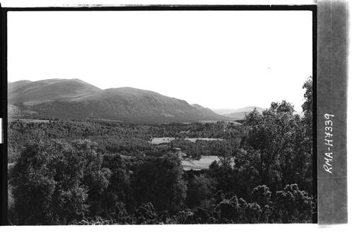 View to Glen Feshie, Strathspey.