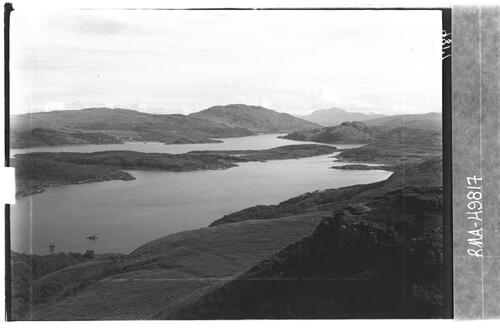 Loch Sunart and Oronsay Island.