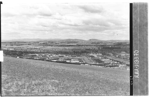 Site of new suburb, Dunfermline.