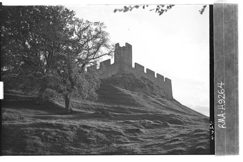 Hume Castle from north east.