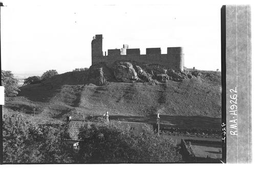 Hume Castle from north.