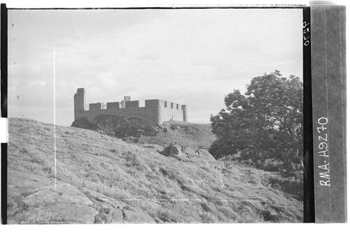 Hume Castle from north west.