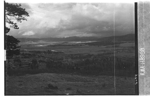 Kingussie from Creag Bheag.