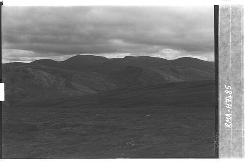 Lochnagar from Morrone Hill.