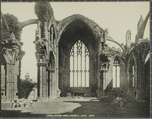 Chancel, Melrose Abbey, Looking East