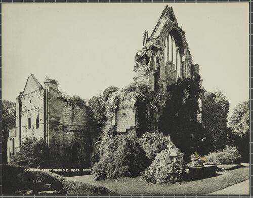 Dryburgh Abbey from South East