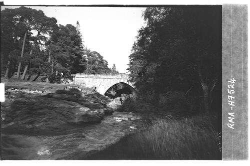Bridge, Linn of Dee.