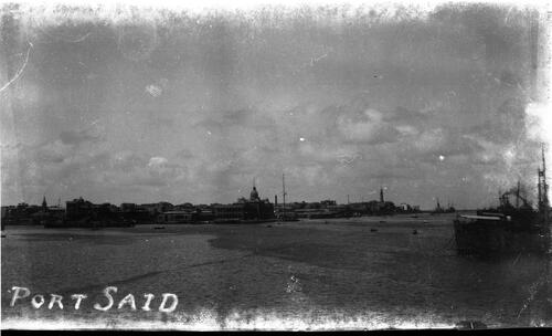 Port Said Coaling(?)
