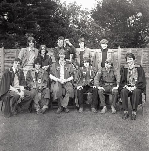 Students' Representative Council Executives [1979], University of St Andrews, St Andrews.