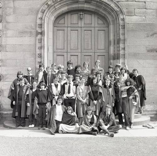 Students' Representative Council and the Students' Union Executives [1980], United College Quadrangle, University of St Andrews, St Andrews.