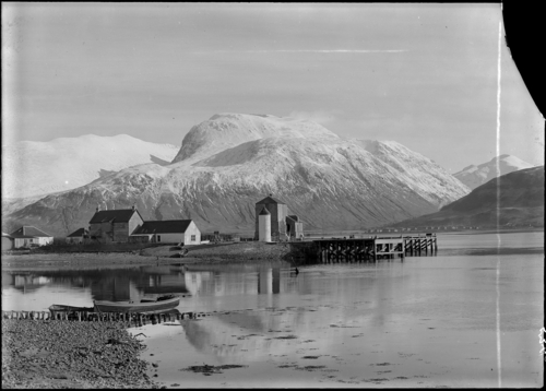 Ben Nevis with Corpach Pier.