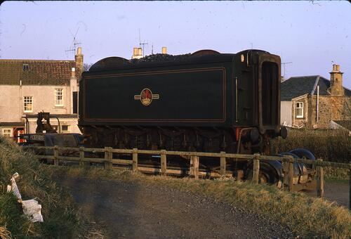 "B.R. locomotive no. 60009 ""Union of South Africa"" at Crail"