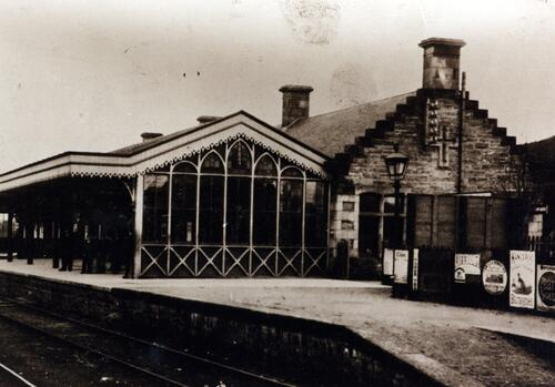Kingussie Railway Station.