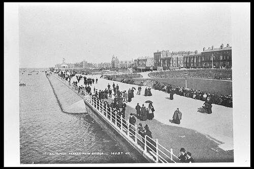 Southport. Promenade from Bridge,