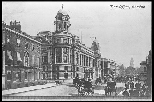 War Office, London.