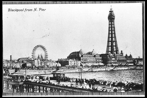 Blackpool from North Pier.
